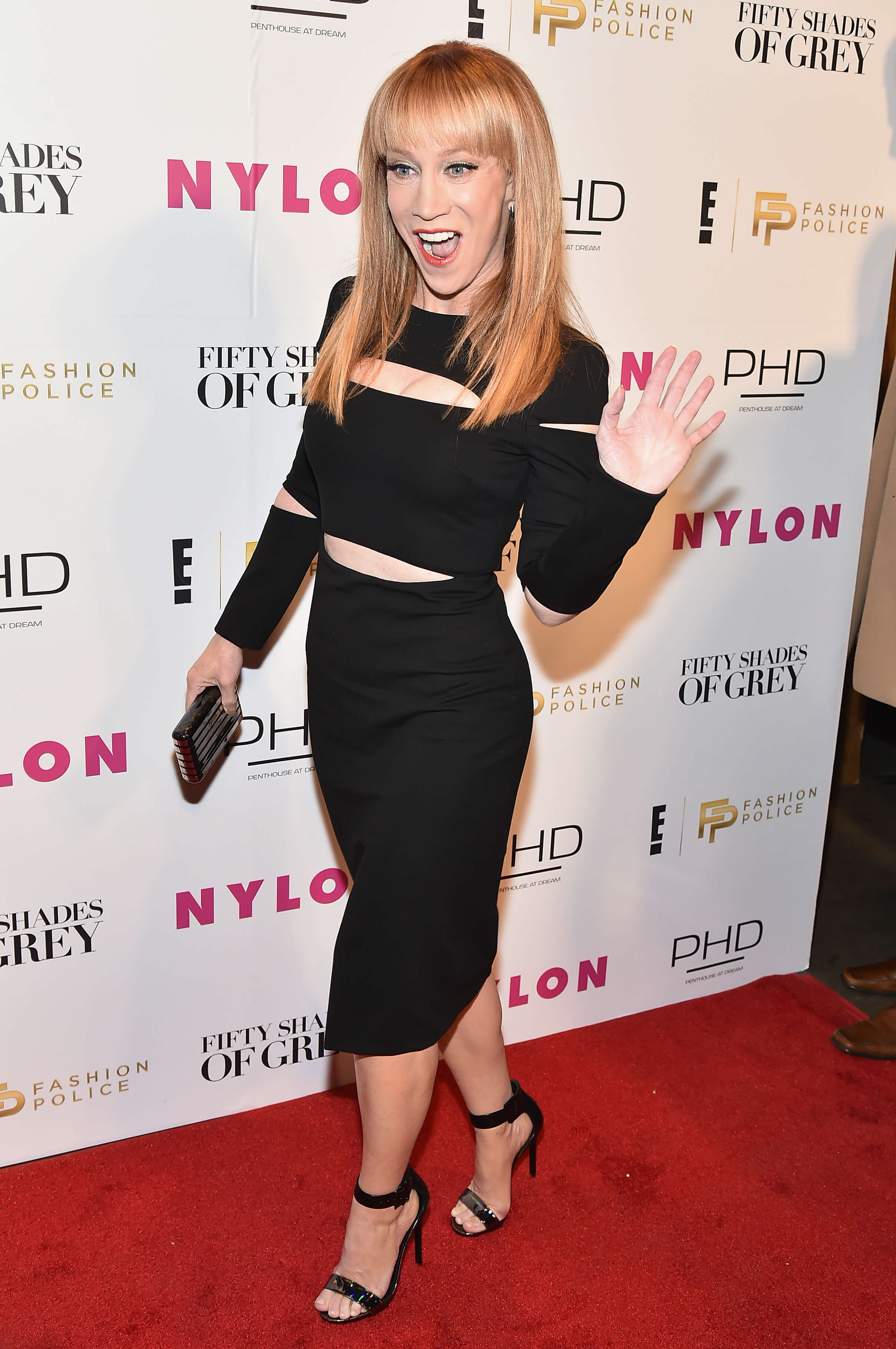 Kathy Griffin hot black dress pics