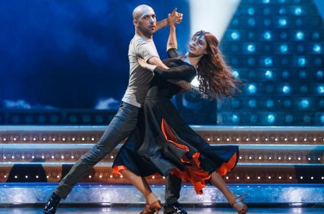 Евгений Папунаишвили в «Танцах со звездами»