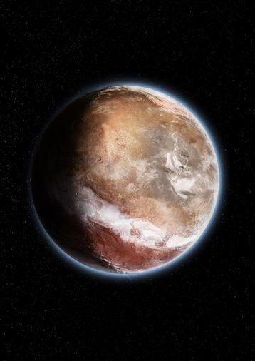 Un peu de planétologie... Basculement de la planète Mars