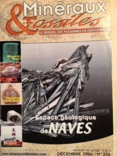 L'Espace Puyaubert dans Minéraux et Fossiles de 2006