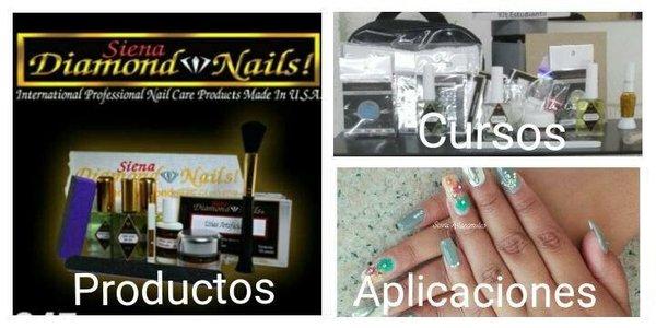 Siena diamond nails