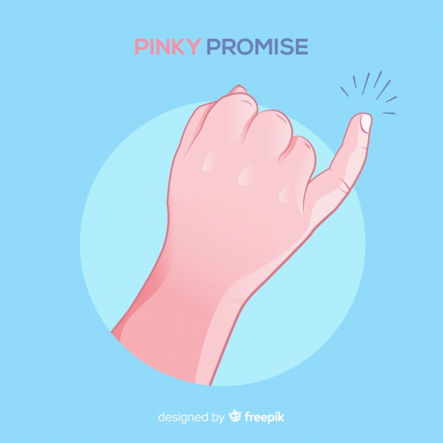 Pinky promise picture