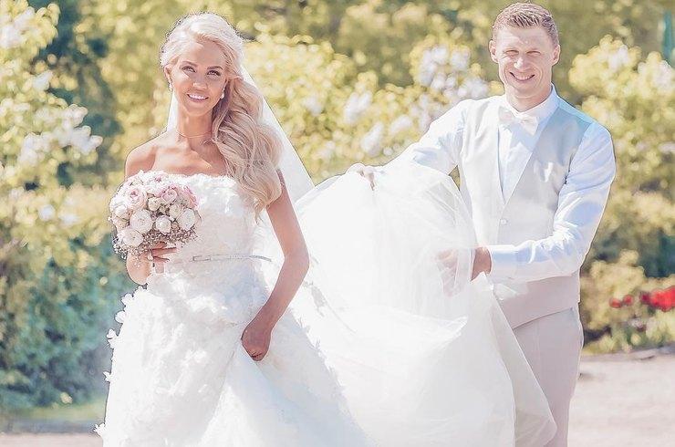 Павел иМария Погребняк объявили очетвёртой свадьбе