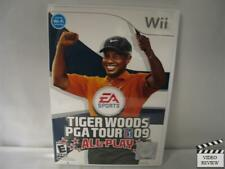 Tiger Woods PGA Tour 09 All-Play  (Wii, 2008)