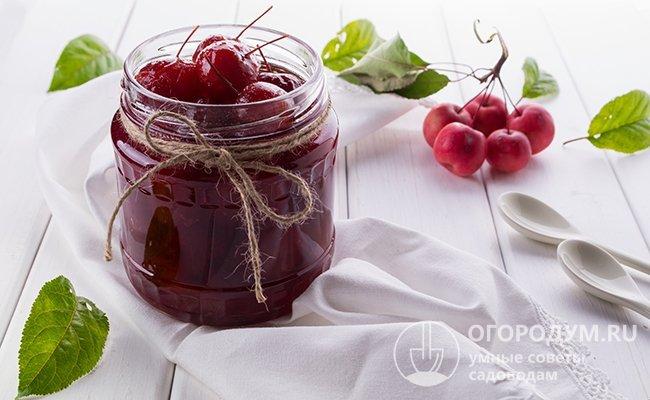 Рецепт варенье из райских яблочек