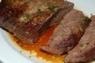 Мясо говядина в духовке рецепт с фото в рукаве