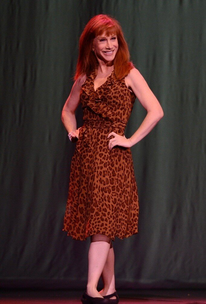 Kathy Griffin hot feet