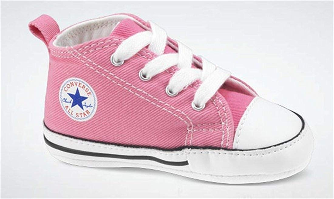 Converse crib shoes pink