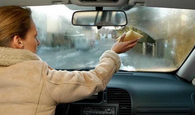 Что делать когда стекла в машине потеют
