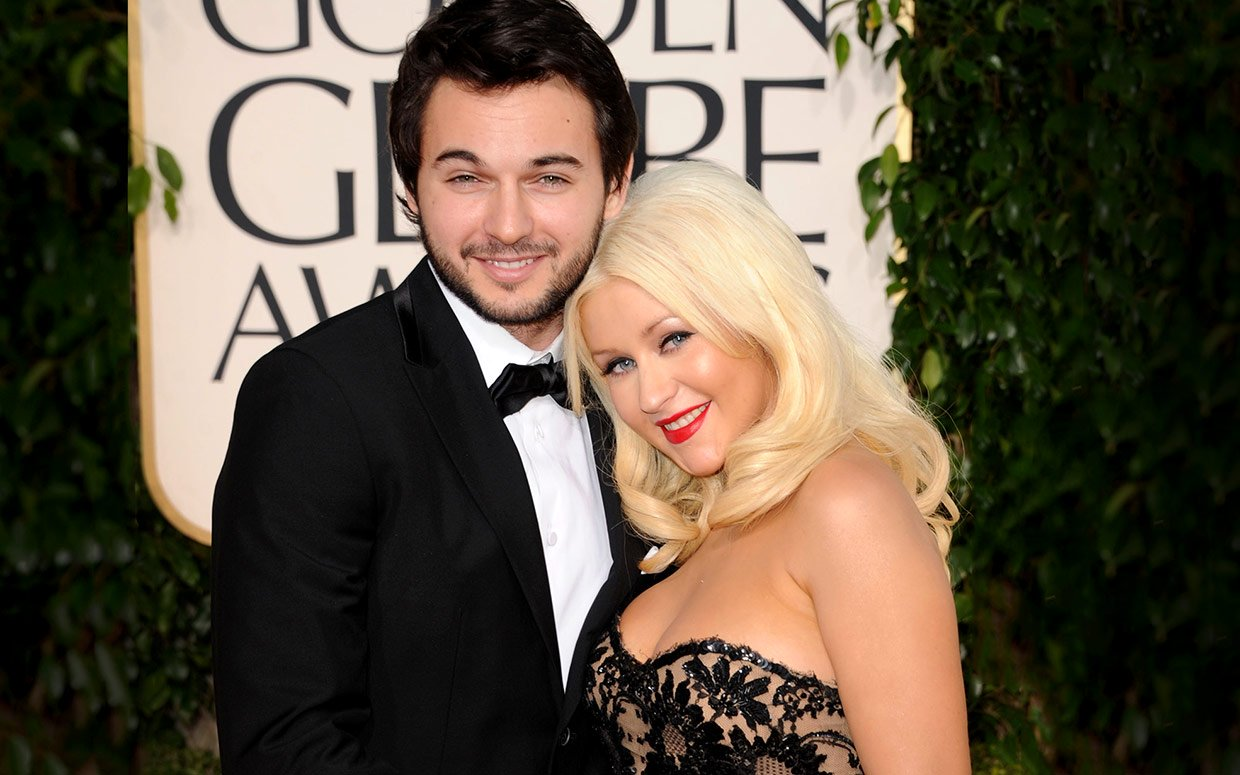 Did christina aguilera have her baby