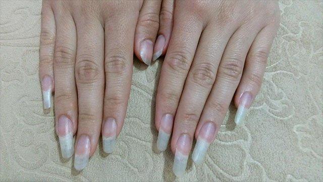 Long nails photos