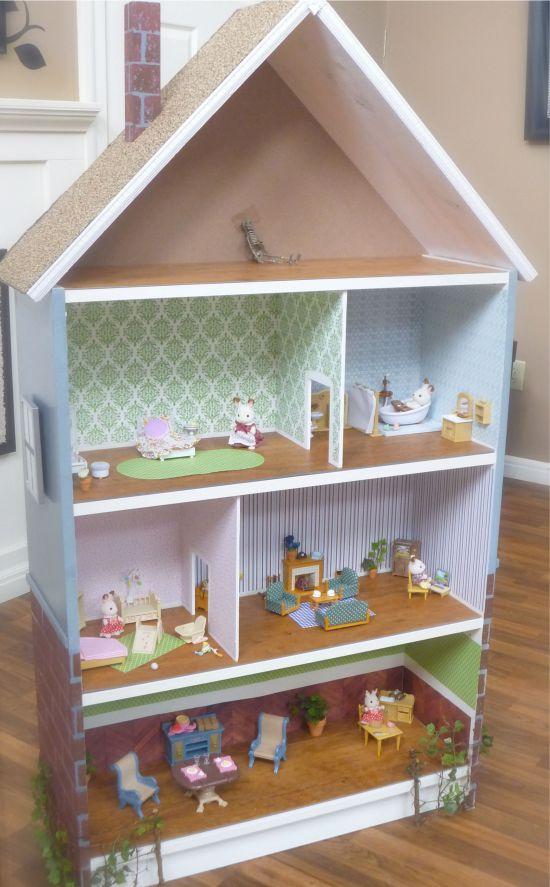 Кукольный домик из стеллажа Билли