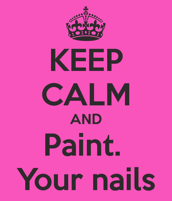 Keep calm and paint your nails iphone 5 case