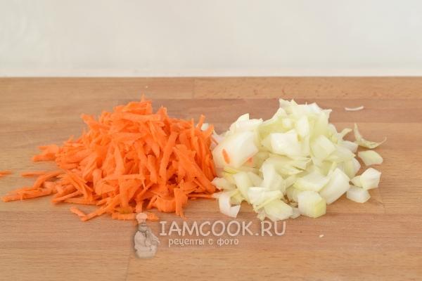 Морковь и лук репчатый