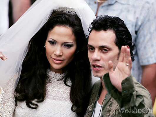 Jennifer lopez and marc anthony wedding pics