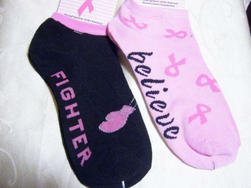 Pink nike elite socks for breast cancer awareness