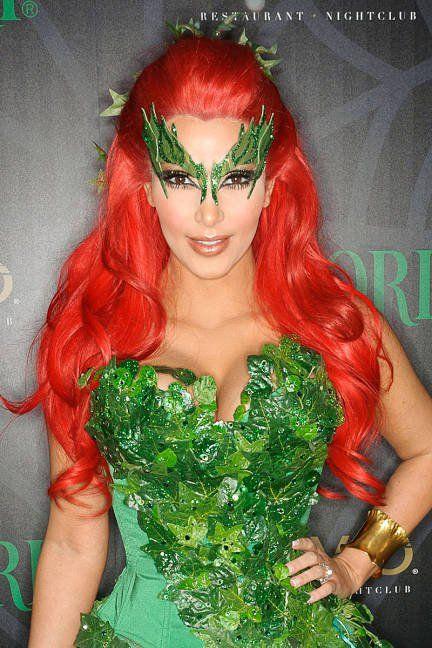 Kim kardashian poison ivy wig