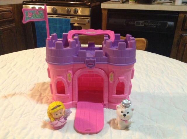 Little people castle pink
