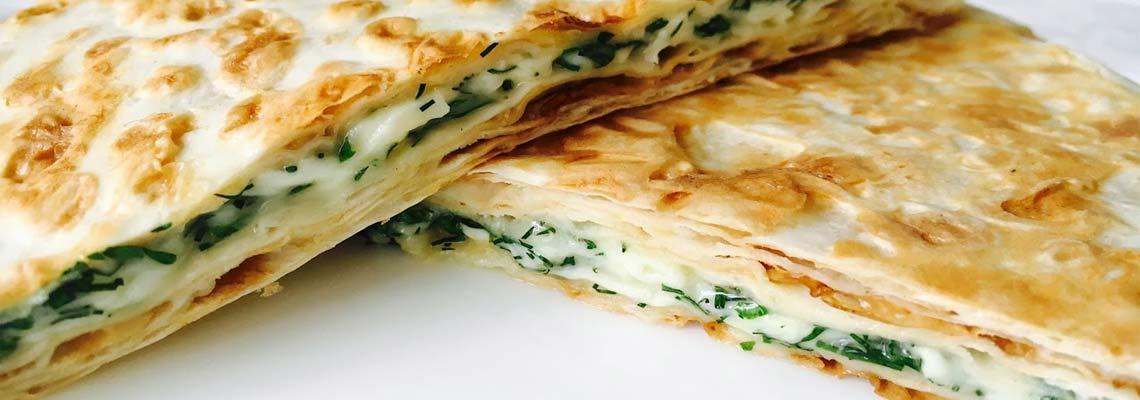 Жареный лаваш с сыром рецепт с фото