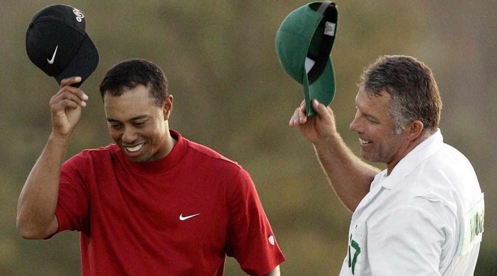 Steve williams earnings with tiger woods