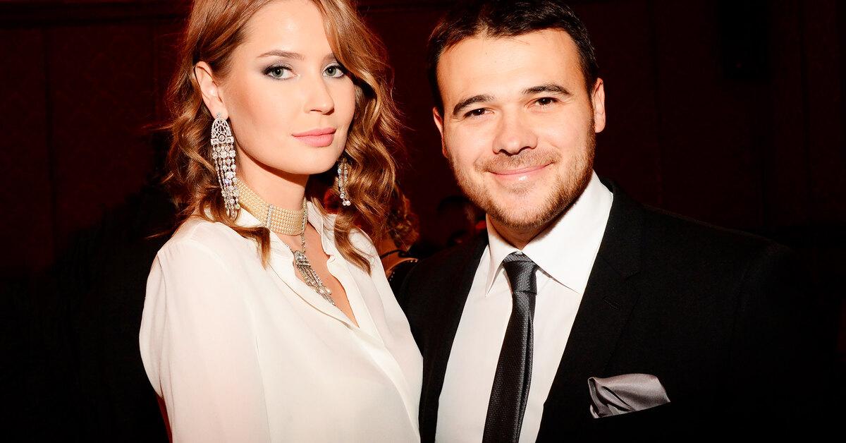 Агаларов эмин и жена
