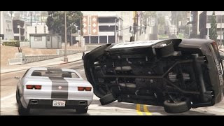 THE CHASE GTA 5 PC Machinima Rockstar Editor