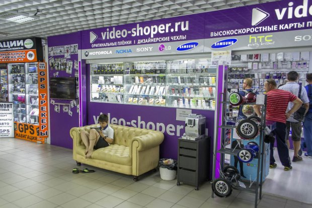 Новая точка самовывоза интернет-магазина Video-shoper