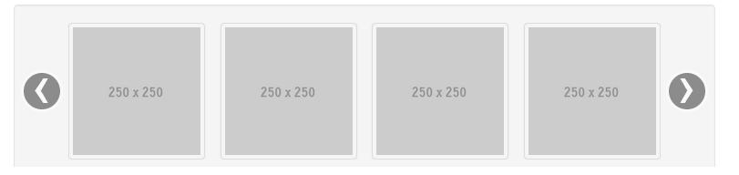 Bootstrap slider with thumbnails