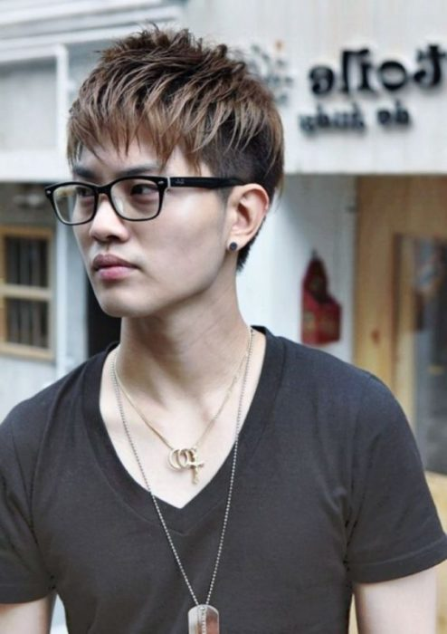 The Rough Look for Korean Guys