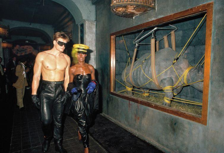 Дольф Лундгрен и Грейс Джонс, 1980-е. история, смотреть, фото