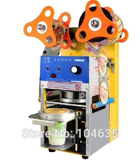 Milk tea sealing machine