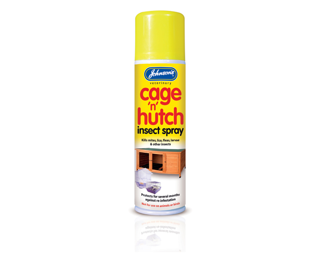 Johnsons cage and hutch spray