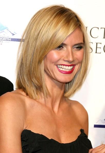 Heidi klum short hair cut