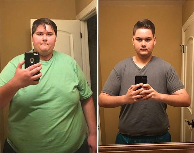 Истории похудение фото до после
