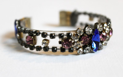 DIY J. Crew-Inspired Jeweled Bracelet