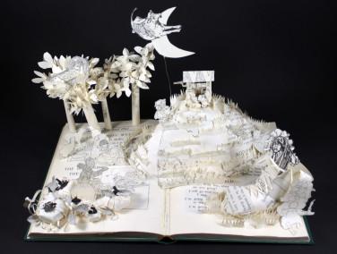 Nursery Rhymes Book Sculpture