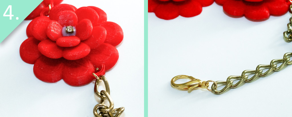 Step 4 - DIY J.Crew Rose Wreath Necklace – With a 3D Printer - Jamie B. Hannigan