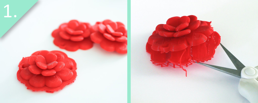 Step 1 - DIY J.Crew Rose Wreath Necklace – With a 3D Printer - Jamie B. Hannigan