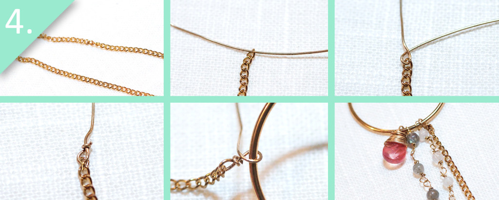 Step 4 - DIY Anthro-Inspired Fringed Hoops by jamie b. hannigan
