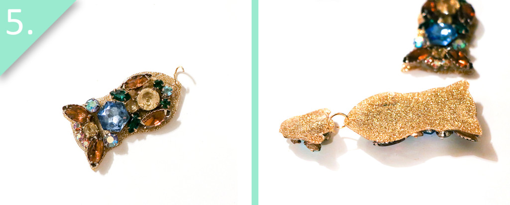 Jamie B. Hannigan - DIY J.Crew Inspired Sparkle Earrings - Step 5