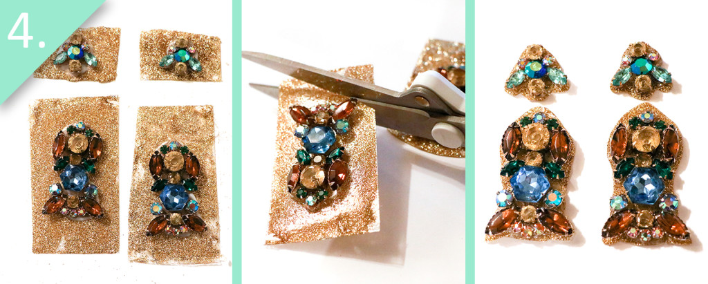 Jamie B. Hannigan - DIY J.Crew Inspired Sparkle Earrings - Step 4