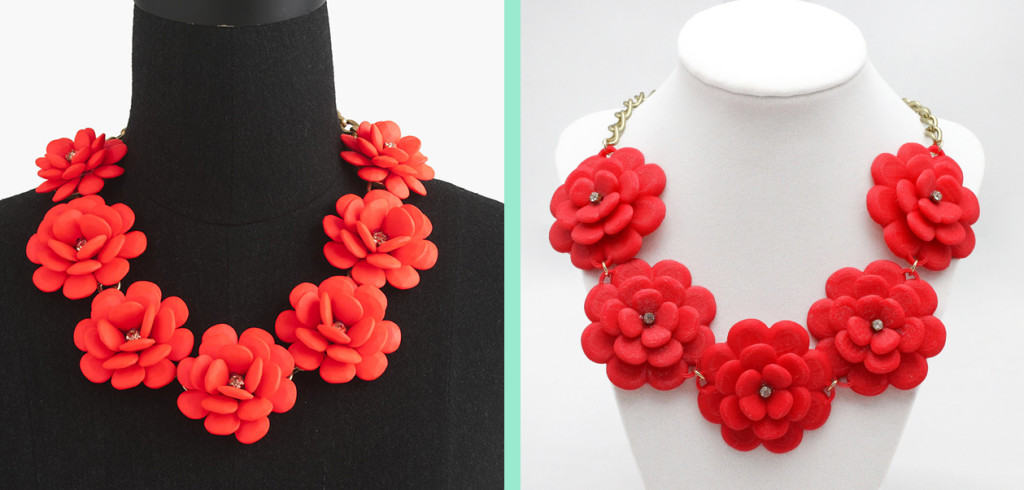 DIY J.Crew Rose Wreath Necklace – With a 3D Printer - Jamie B. Hannigan
