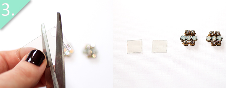 alex and ani inspired earrings tutorial - step 3