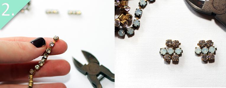 alex and ani inspired earrings tutorial - step 2 - jamie b hannigan