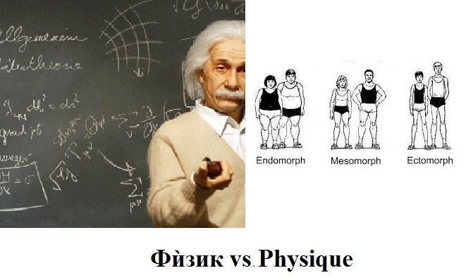 Физик vs Physique