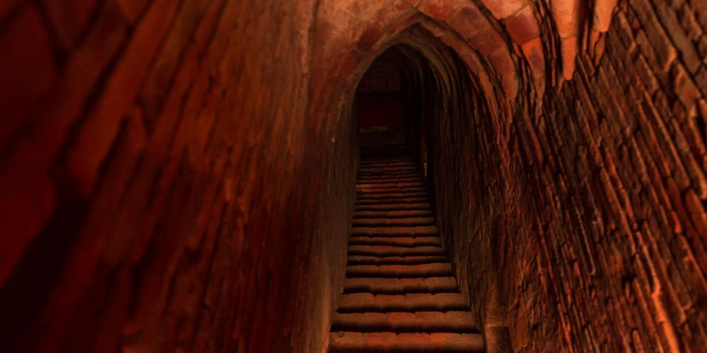 myanmar_bagan_temple_passageway