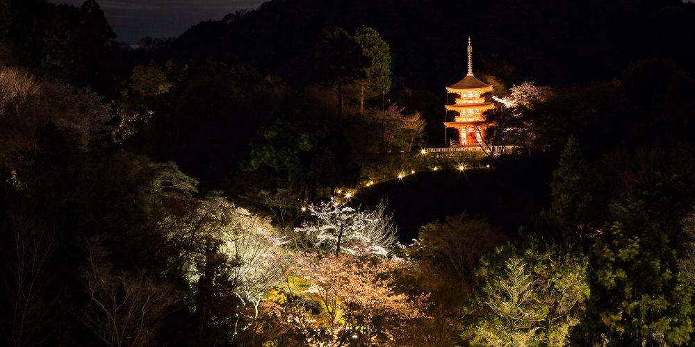 Japan_Kyoto_Pagoda_Night