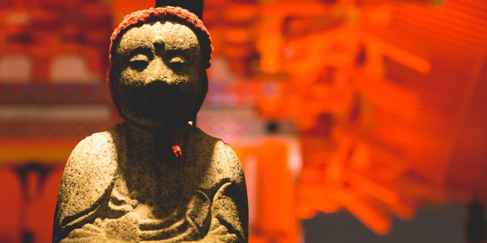 Japan_Jizo_Cap_Statue