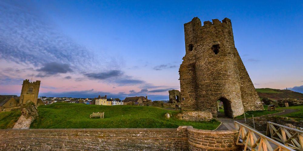 aberstwyth_castle_dusk