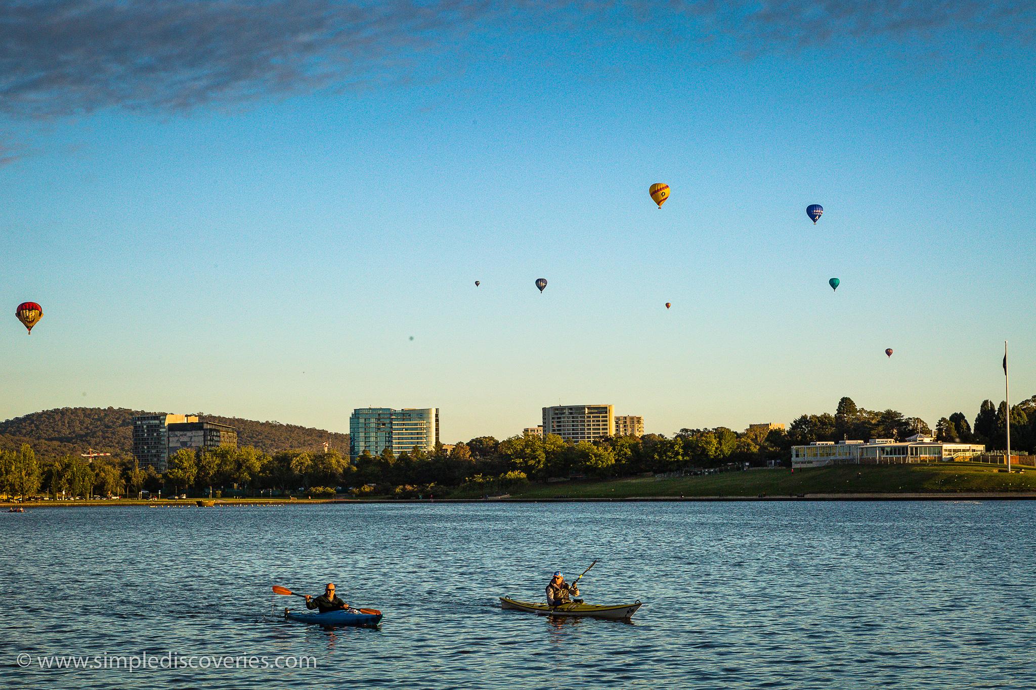 canberra_australia_balloons_kayaking